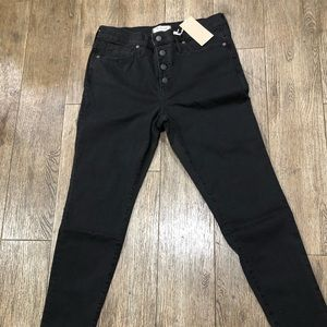 Madewell Jeans - Black Jeans